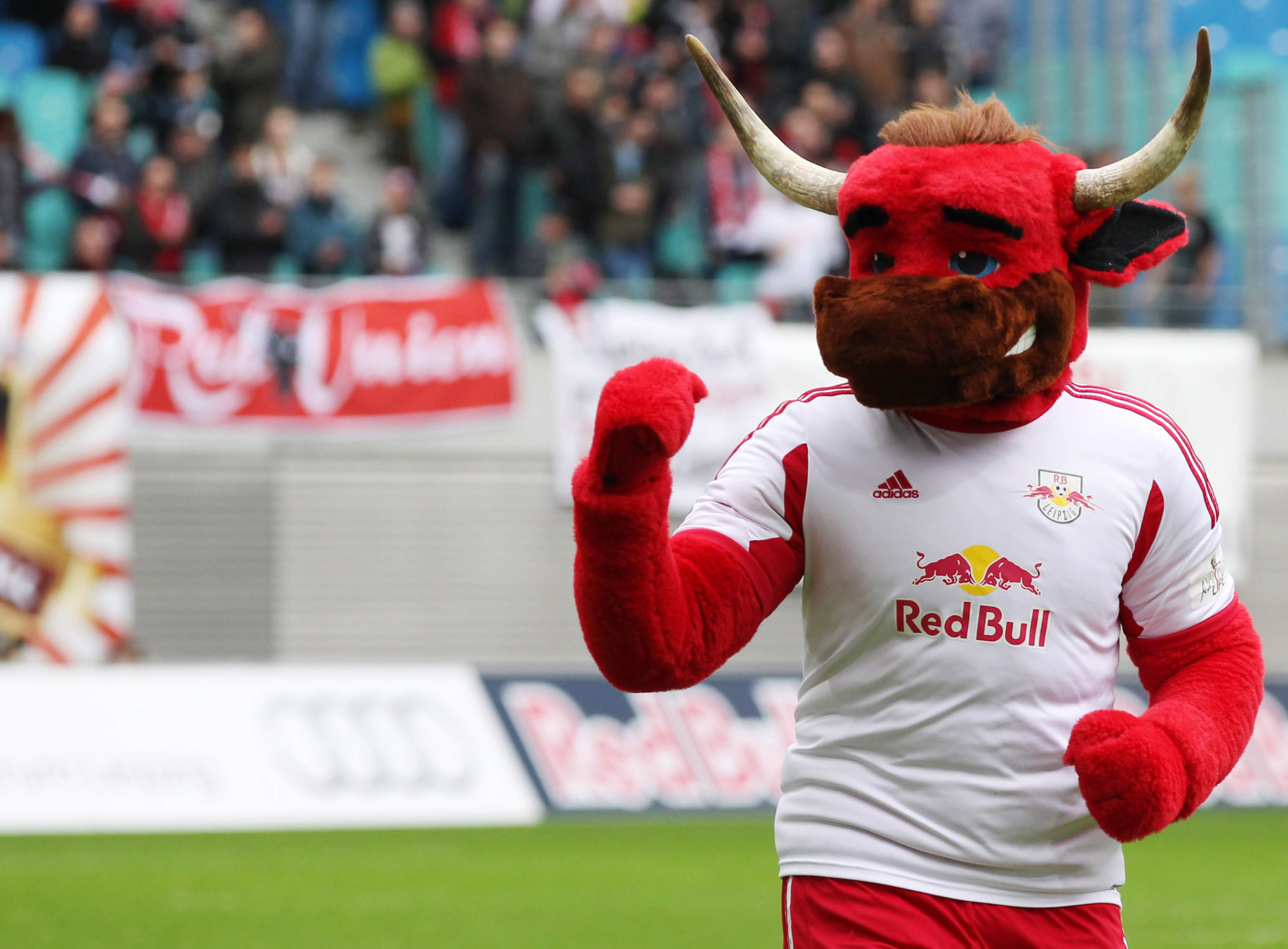 Rote Bullen Leipzig Bulli
